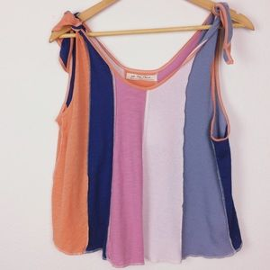 Free People knot top tank